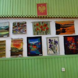 Wystawa Akademii Sztuki Uniwersytetu III Wieku - 14.10.2016