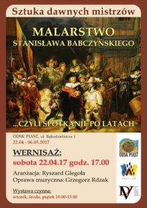 Wystawa malarstwa Stanisława Babczyńskiego