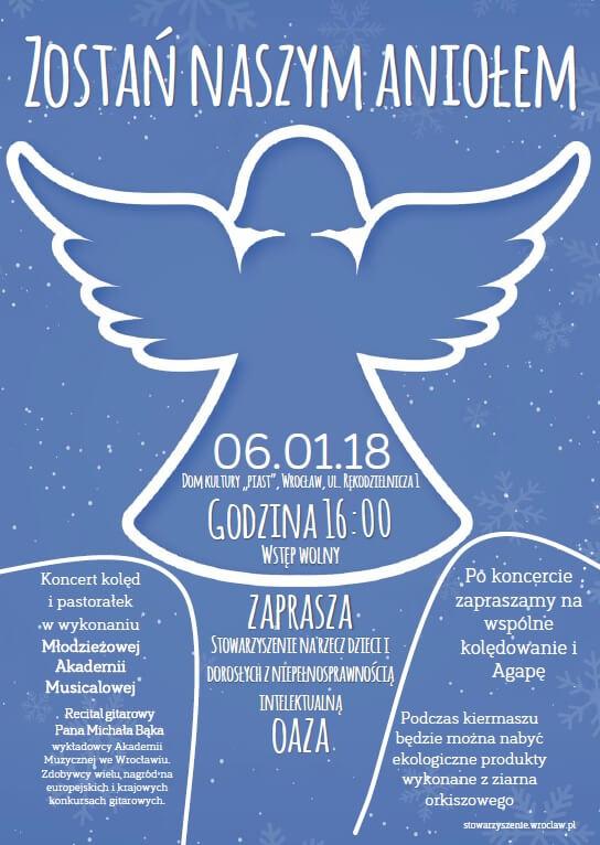 Zostań Naszym Aniołem - plakat