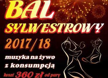 Bal Sylwestrowy 2017 - plakat