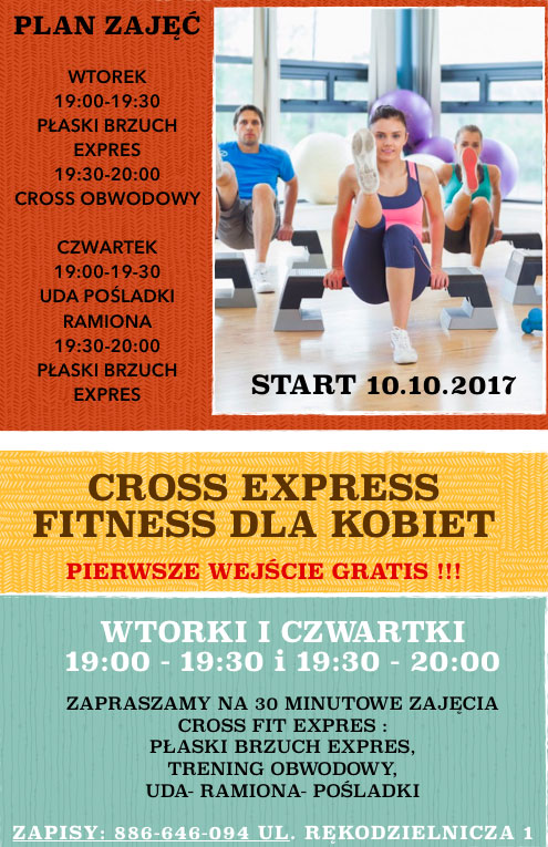 Cross Express - plakat
