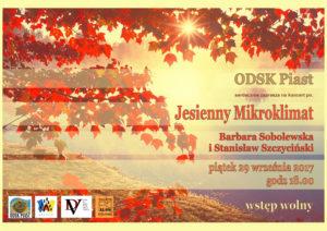 Koncert - Jesienny Mikroklimat