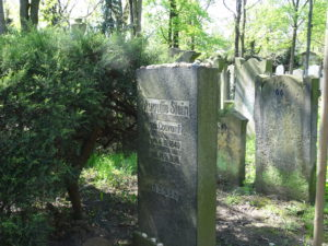 Zwiedzanie cmentarza żydowskiego