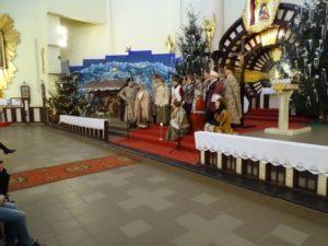 Koncert kolęd w kościele