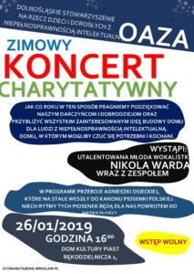 Zimowy koncert charytatywny